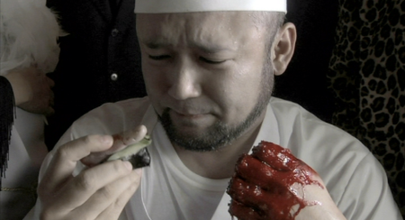 the Machine Girl - Finger Sushi