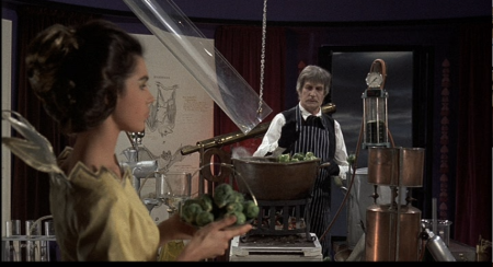 the Abominable Dr. Phibes - Phibes becomes Willy Wonka