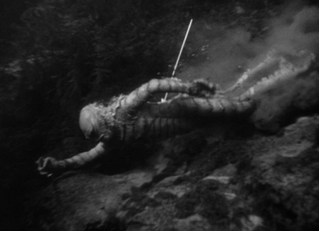 Creature from the Black Lagoon - Creature Wounded