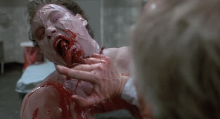 Re-Animator the Dean loses a finger