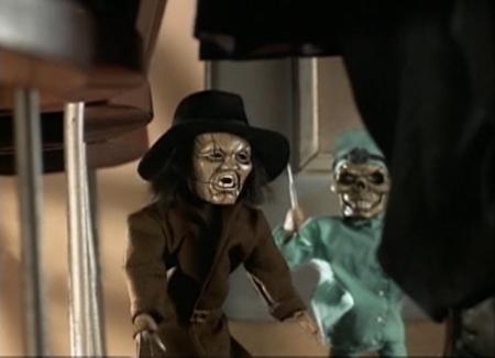 Retro Puppet Master - Blade & Dr. Death