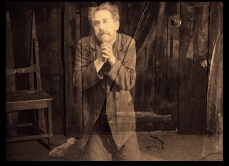the Phantom Carriage - David Holm Prays for Forgiveness