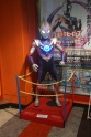 Ultraman is almost as big as Pokemon and slimes. Here's SEGA arcade doubling down by putting a life-sized statue of him next to his own paper, rock, scissors game.
